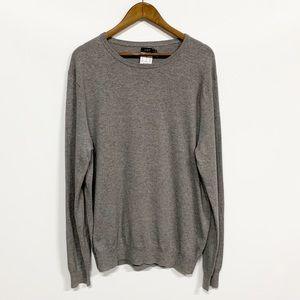 J. Crew | Gray Long Sleeve Sweater NWT
